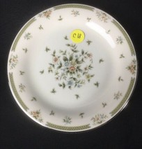 American Royalty Spring Gardens Porcelain Round Lunch 1 Salad Plate  - $17.47