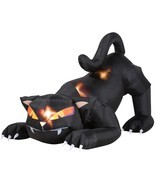 Animated Airblown Black Cat with Turning Head - $85.82