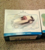 Hallmark ornament 1932 Chevrolet sports car Vintage Roadsters #2 - $13.36