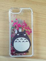 My Neighbor Totoro Sparkle Liquid Glitter Quicksand Case For iPhone 6/6s Plus  - $14.99