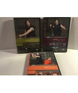 SET OF 3 PETER TWIST SPORT CONDITIONING FITNESS DVD'S CORE & STRENGTH - $17.65