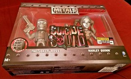 Metals Die Cast Suicide Squad Joker Harley Quinn Hot Topic 2016 Summer Excl. #23 - $29.99