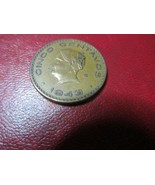 Mexico 1943 Cinco Centavos - $4.99