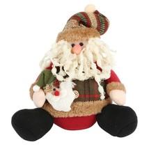 Christmas Figure Santa Claus Snowman Deer Sitting Decoration Xmas Gift T... - €12,64 EUR