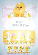 Vintage Hello Happy Easter Card Ambassador Cards 1981 - $2.99