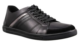 Mens Kenneth Cole Black Initial Sneaker [KMF8024LE 001] - $94.99