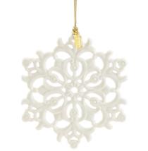 New Lenox 2018 Snow Fantasies Christmas Ornament in Box Gift Porcelain S... - $39.50