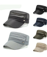 Branded Military Hat For Men & Women Summer Breathable  Army Cap Cadet C... - $15.98