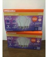 Sylvania Germicidal LED Light Bulbs 60W Equiv Fights Odors Germs 2700K X... - $19.80