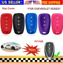 Silicone Cover Entry Protector Skin Chevrolet Fob Case for Chevy Camaro Car Key - $8.90+