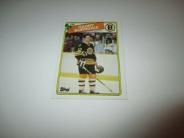 1988 Topps Randy Burridge #33 - Additional Cards Ship FREE!!!! - $0.99