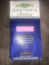 Nature's Way Doctors Choice Multivitamin 45+ Women 180 Tablets BB 2/23 N... - $28.00