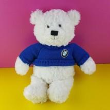 "Gund BMW Signature Plush Teddy Bear White Blue Sweater 14"" Stuffed Animal  - $18.81"