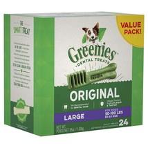 Greenies Dog Dental Chews Treats - Large Size (50-100 lb Dog) - $44.73