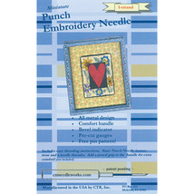 CTR Needleworks Miniature Punch Embroidery Needle-Blue 1-Strand - $18.25