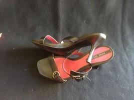 Nine West Womens Sandals Heels Size 6 1/2 Medium Black - €24,28 EUR