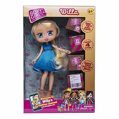 Primary image for Boxy Girls WILLA 8 inch Doll With 4 Surprise Packages