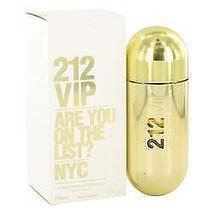 212 Vip Perfume By  CAROLINA HERRERA  FOR WOMEN  2.7 oz Eau De Parfum Spray - $71.80
