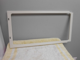 ge general electric microwave oven door choke cover wb55x10535 bisque