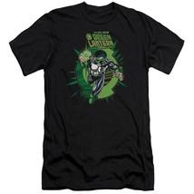DC Comics Rayner Green Lantern Corps retro comics graphic black t-shirt GL273 image 1