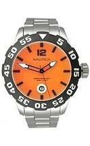 Nautica BFD 100 Stainless Steel Men's watch #N18623G - $108.05
