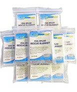 Emergency Mylar Thermal Blankets, Heat, Cool, Kit, Temperature,Body, Pro... - $19.95