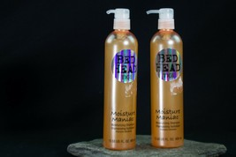 Tigi Bed Head Moisture Maniac Moisturizing Shampoo two 13.53 Oz Bottles - $12.99