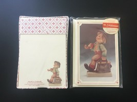 90s M.J. Hummel Merry Wanderer Stationery 8 Cards & Envelopes, Notecards... - $19.95