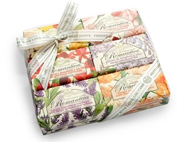 Romantica Soap Gift Set of 6 psc x 150 gr. by Nesti Dante Made in Italy - $42.99