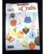 Simplicity Crafts Pattern 9220 Decorative fabric pot holders or Trivets 11 - $5.24