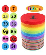 JoyJon Floor Spot Markers with Number and Alphabet Carpet Markers for Cl... - $17.53