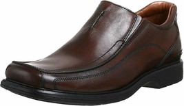 NEW CLARKS ENGLAND CODE BROWN MENS SIZE 10 (78341) - $198.00