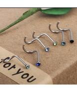 10 pcs Punk Style Piercing Nose Lip Jewelry  Body Jewelry For Man Women ... - $13.00+