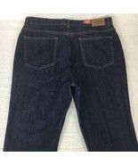 Chaps Ralph Lauren Womens Jeans Pants Blue Stretch Denim Size 12x32 NEW! - $39.75