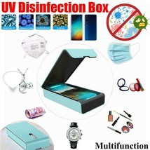Upgraded Portable Machine UV Sterilizer Cellphone Face Mask Disinfection... - $32.25