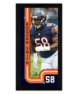 """Roquan Smith Chicago Bears - 6.75"""" x 13"""" Miniframed Photo Montage - $38.95"""
