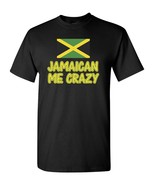 Jamaican Me Crazy Jamaica Flag Men's Tee Shirt 1860 - $8.86+