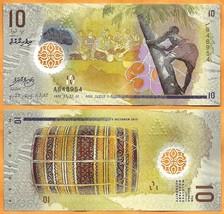 MALDIVES  2015  GEM UNC 10 Rufiyaa Banknote Polymer Money Bill P- NEW - $2.50