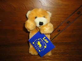 Ganz 1994 Miniature LEO Birthday Horoscope Bear P1665  - $57.83