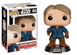 Loot Crate Exclusive Han Solo Bobble Head (Snow Gear) by Funko Pop Star Wars - $11.93