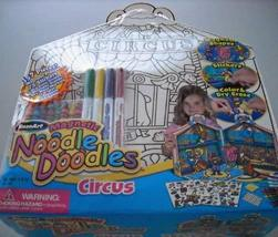 RoseArt Magnetic Noodle Doodles Circus - $22.95