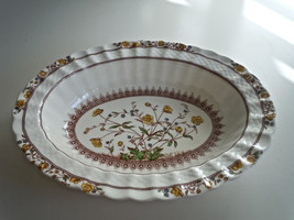 Spode Buttercup Oval Vegetable Bowl - $48.50