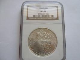 1904-O $1 Morgan Silver Dollar , NGC , MS 64 - $95.00