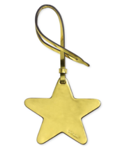 Coach Boxed Ornamental Bag Charm (Metallic Lemon Star, One Size) - $21.38