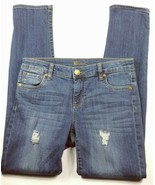 Kut From The Kloth Women's Catherine Boyfriend Distressed Jeans Size 2 D... - $37.31