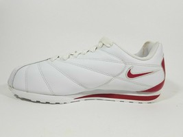 Nike RARE Libretto Classic Indoor 304334 161 Leather White Men's Shoes SZ 8 - $49.49