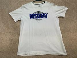 Nike Kentucky Wildcats NCAA Basketball T-Shirt Men's Size Large White* - $18.69