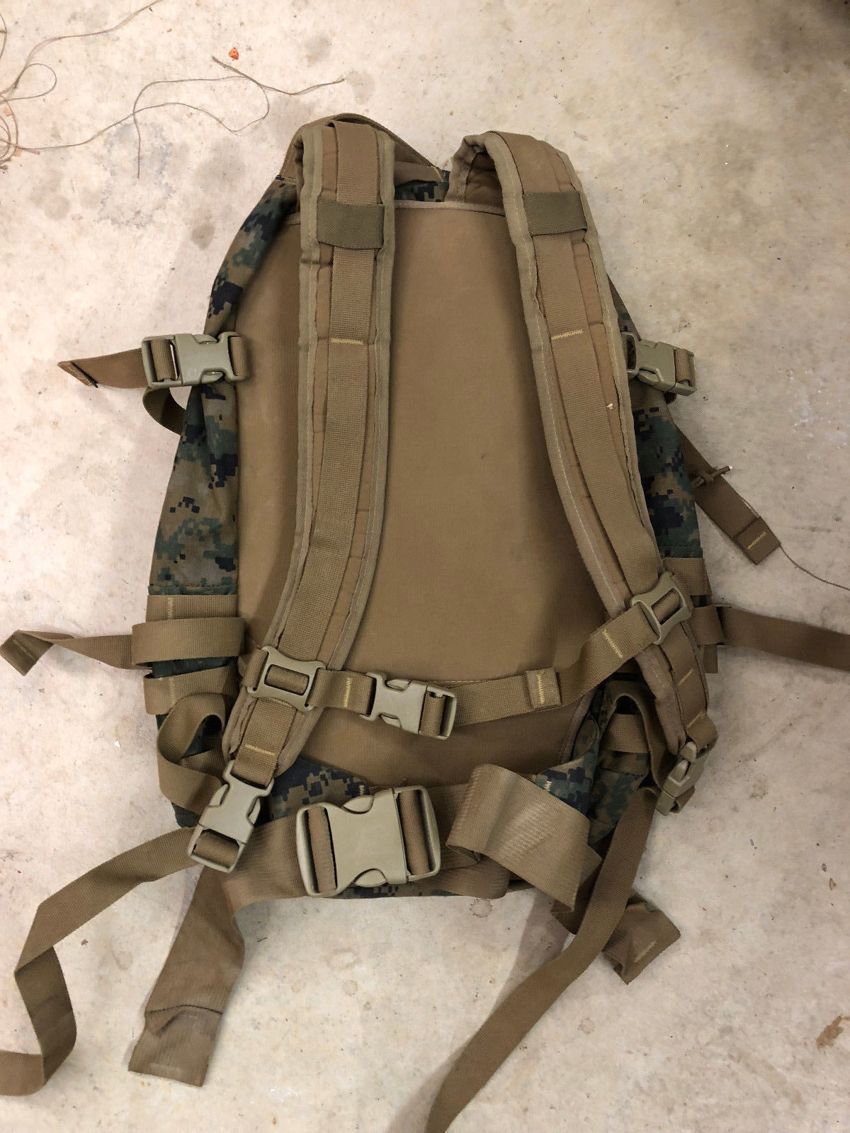 ... USMC Marine ILBE MARPAT 3 Day Assault Pack MOLLE GEN II - Repaired df323c3d8c