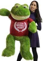 Giant Stuffed Frog 48 Inch 4 Foot Big Plush Wea... - $127.11
