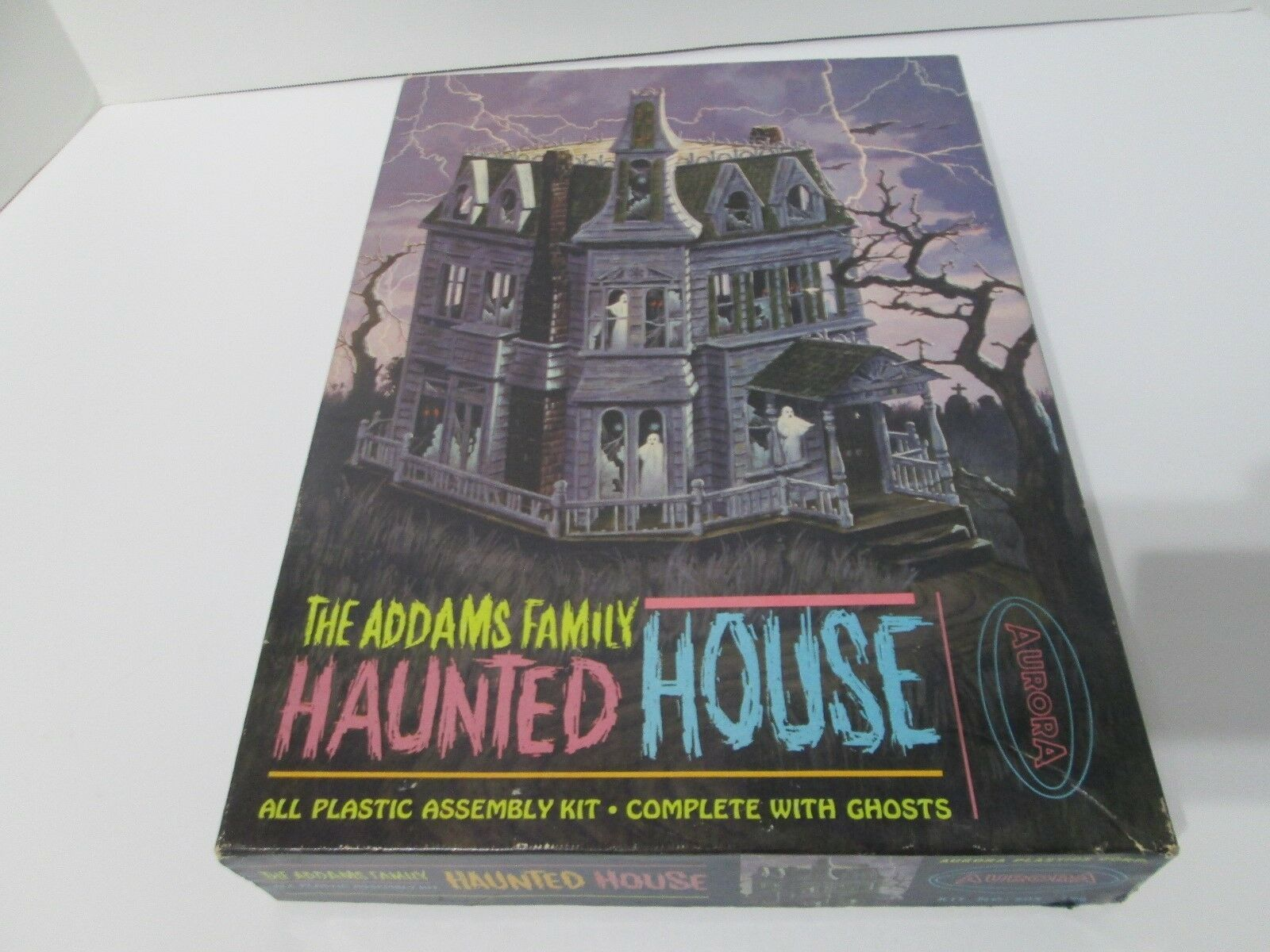 Primary image for Aurora Rare 1965 The Addams Family Haunted House Model Kit 805 -198 New In  Box
